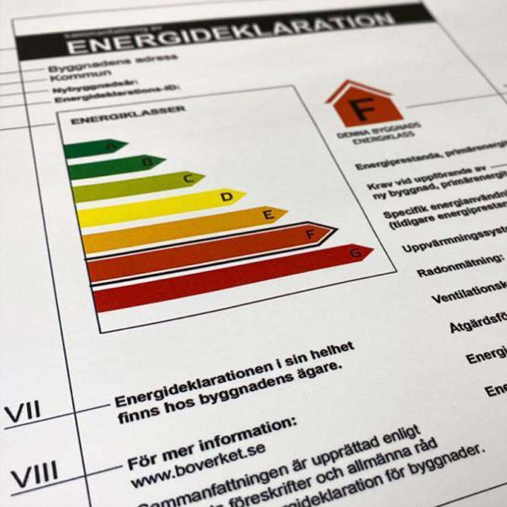 Raksystems energideklaration